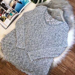 Free People | Lace Crochet Sweater
